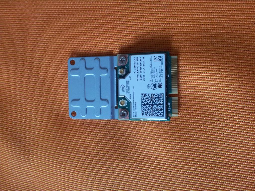 Intel AC7260 mit full-size Adapter